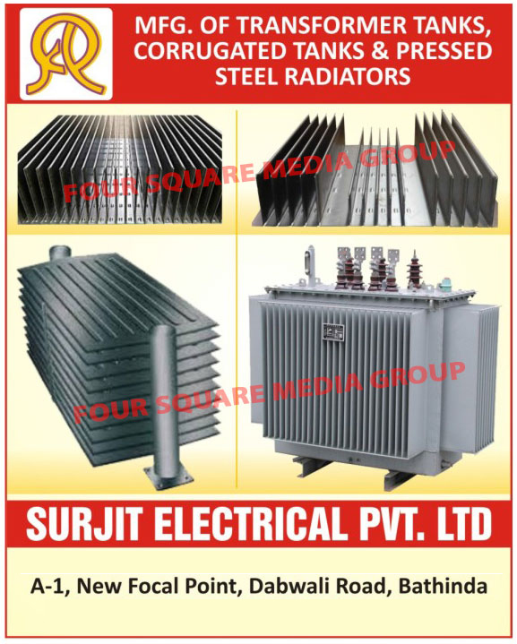 Transformer Tanks, Corrugated Tanks, Pressed Steel Radiators