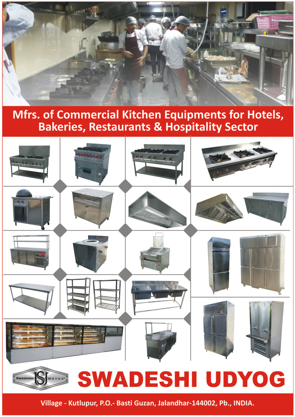 Hotel Commercial Kitchen Equipments | Bakery Commercial Kitchen ...
