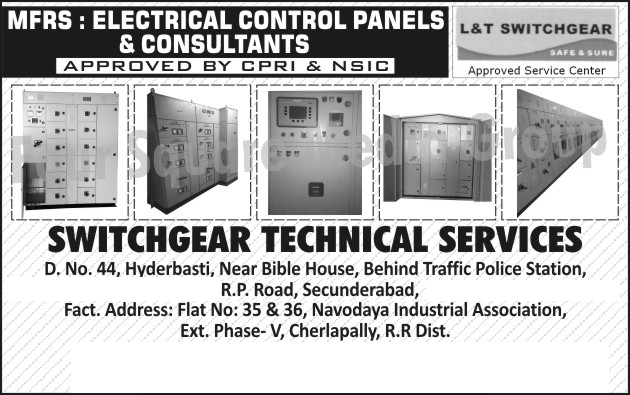 Electrical Control Panels, Electrical Control Panel Consultancy Services