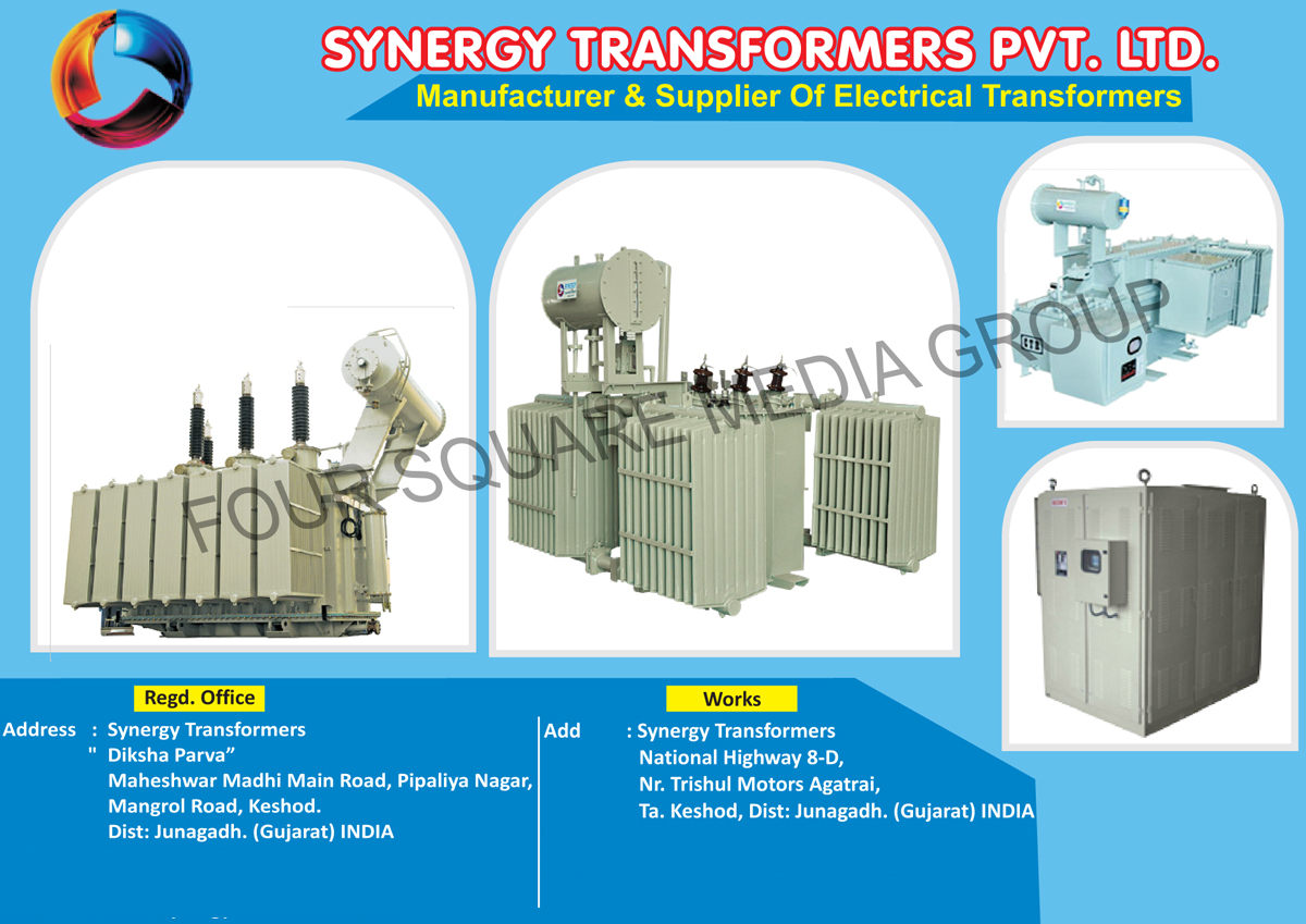 Electrical Transformers, Distribution Transformers, Furnace Transformers, Power Transformers, Step Up Transformers, Low Loss Transformers, Efficient Transformers, Dry Type Transformers