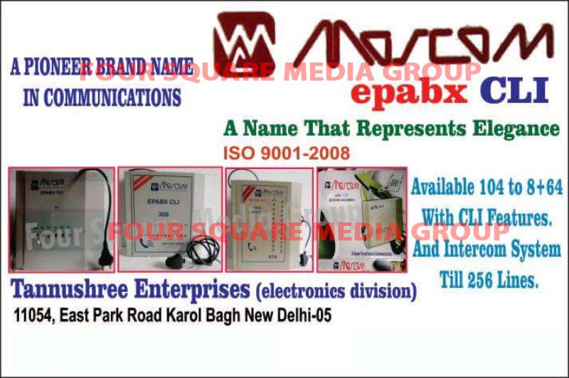 EPABX CLI Systems, EPABX Intercom Systems,
