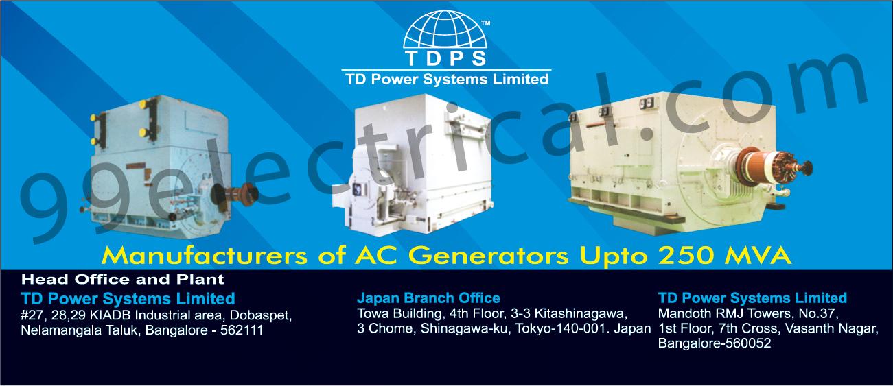 AC Generators | Electrical Products | Generators | Steam Turbine ...