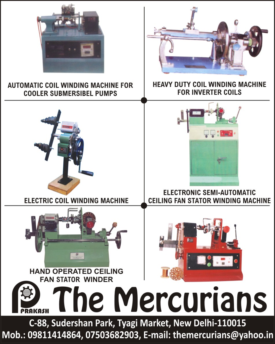 Cooler Submersible Coil Winding Machines | Inverter Coil Winding