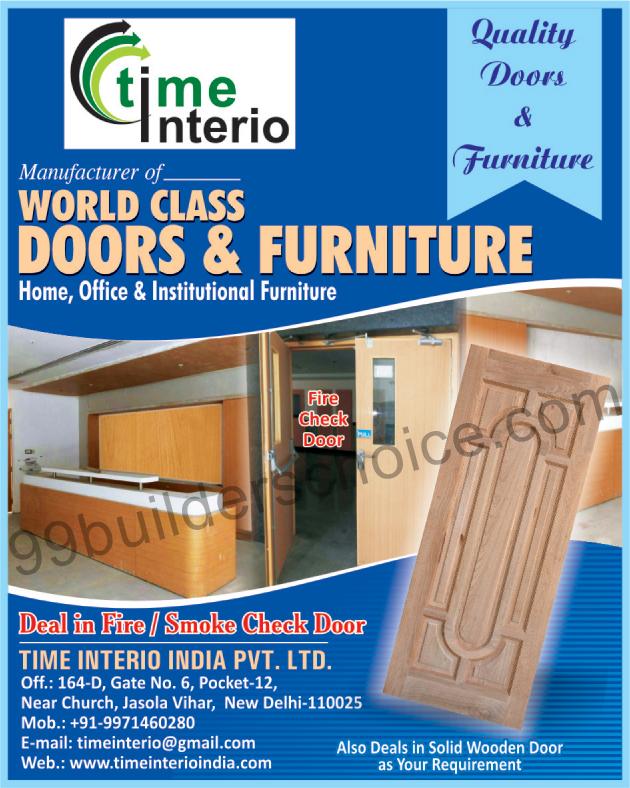 Fire Doors, Smoke Check Doors, Furnitures,Doors