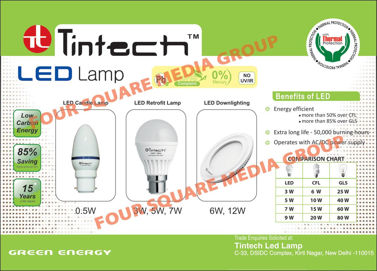 Led Lights, Led Retrofit Lamps, Led Candle Lamps, Led Down Lights, Led Lamps, Lamps, Led Bulbs