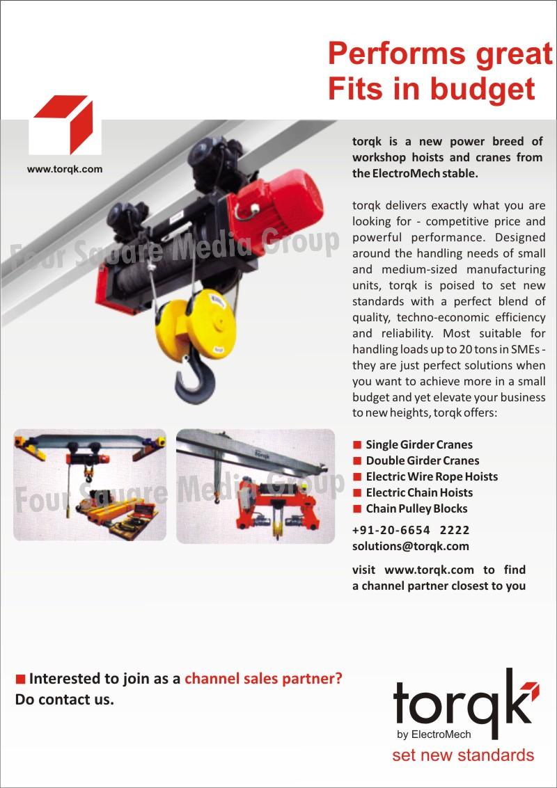 Single Girder Cranes | Double Girder Cranes | Electric Wire Rope ...