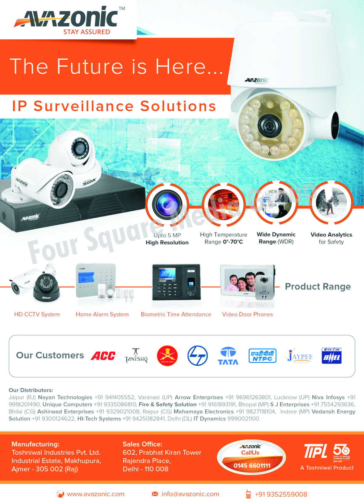 CCTV Systems, CCTV Cameras, Home Alarm Systems, Biometric Time Attendance, Video Door Phones