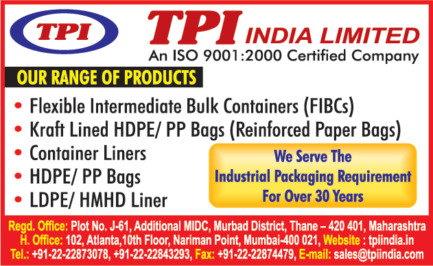 Flexible Intermediate Bulk Containers, HDPE Bags, PP Bags, Container Liners, LDPE Liners, HMHD Liners, Kraft Lined Paper Bags, Kraft Lined HDPE Bags, Kraft Line PP Bags