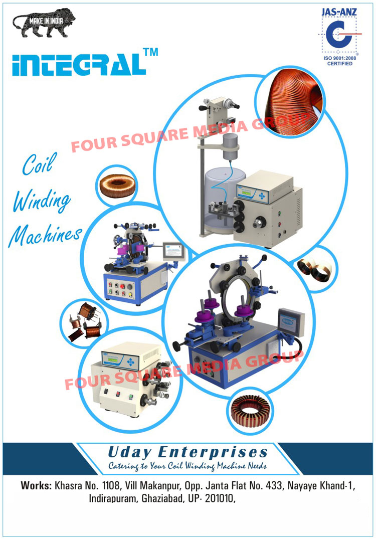 CNC Toroidal Coil Winding Machines, Special Purpose Machines,SPMS, Linear Coil Winding Machine, Special Purpose Winding, Tensioners, Dereelers, Toroidal Coil Winding Machine