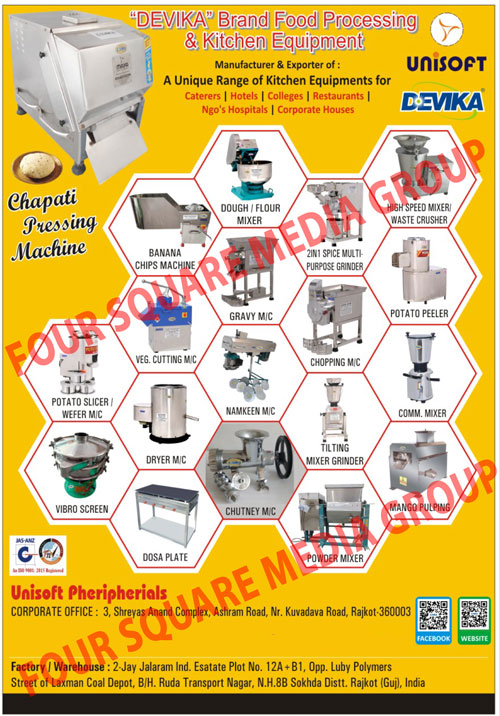 Automotive Engine Parts, Cylinder Liner Sleeves, Piston Assemblies, Piston Rings, Crank Shafts, Crankshafts, Cylinder Heads, Connecting Rods, Automotive Bearings, Automotive Bushes, Engine Valves, Valve Guides, Valve Tappets, Piston Pins, Circlips, Automotive Filters, Automotive Rubber Parts, Commercial Kitchen Equipments, Potato Wafer Machines, Vegetable Cutting Machines, Onion Chopper Machines, Commercial Food Mixers, Namkeen Machines, Namkeen Making Machines, Potato Peelers, Khaman Dhokla Machines, Food Mixer Grinders, Gravy Machines, Food Multipurpose Grinding Mills, Deep Fat Fryers, Semi Automatic Chapati Machines, Compact Chapati Making Machines, Roofing Tiles, Roof Tiles, Roof Ridges, Roofing Ridges, Pencil Bricks, Wall Claddings, Rajwadi Bamboos, Mini Roof Tiles, Mini Roofing Tiles, Facing Bricks, Japan Bricks, Chocalet Bricks, X Bricks, Bamboos, Rajwadi Channels, Round Channels, Royal Channels, Flower Tiles, Wall Flower Tiles, M Hallow , Camera Hallow, Round Hollows, White House, Hollow Bricks, Interlock Roof Tiles, V Belt Cast Iron Pulley, V Belt Aluminum Pulley, Taper Lock Pulley, Timing Pulley, Flexible Shaft Couplings, Gear Couplings, Law Jaw Couplings, Star couplings, Tuti Futi Cutting Machines, Potato Chips Machines, Masala Mixing Machines, Dry Powder Mixing Machines, Tilt Mixer