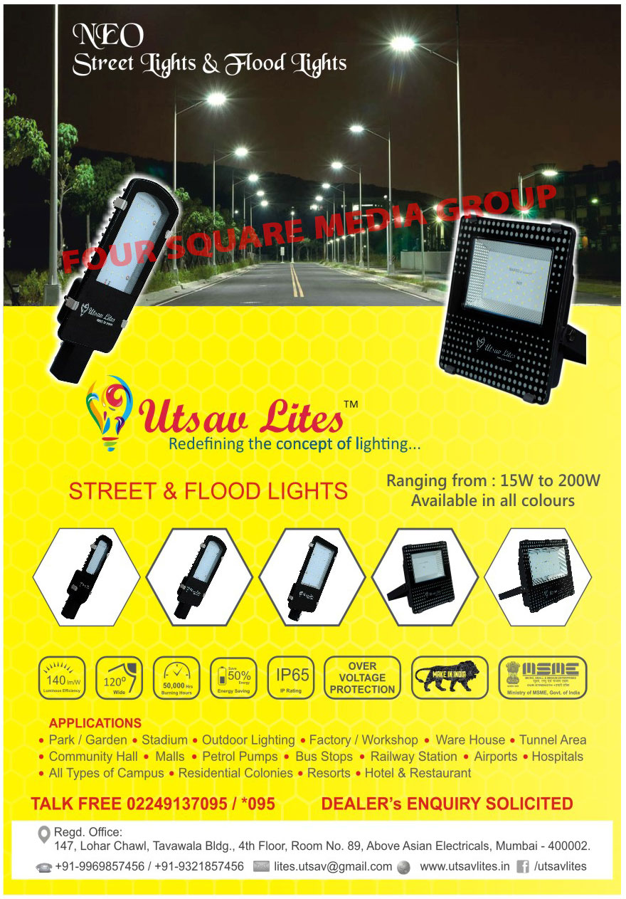 Led Lights, Led Street Lights, Led Flood Lights, High Bay Lights, RGB Flood Lights
