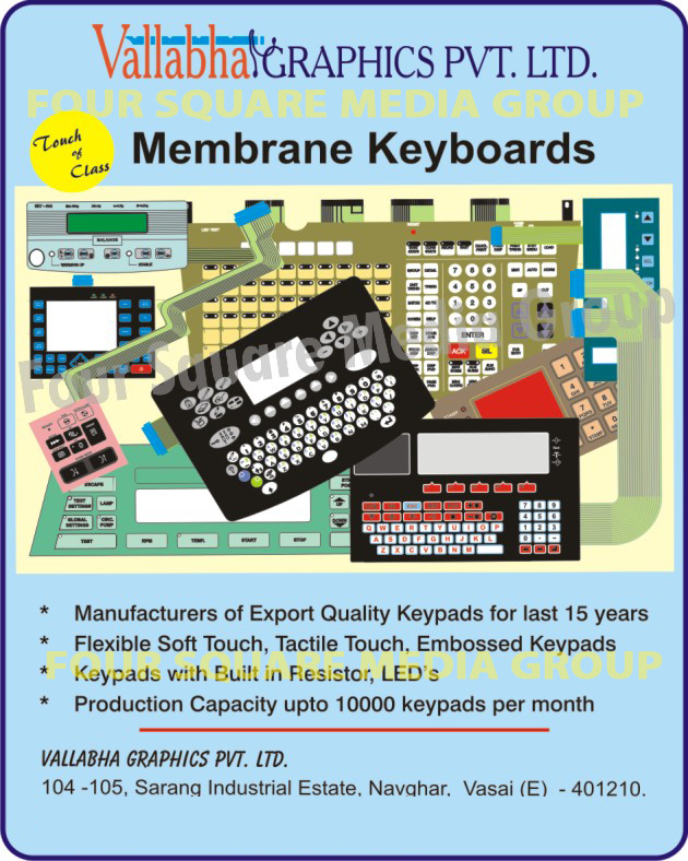 Membrane Keyboards,