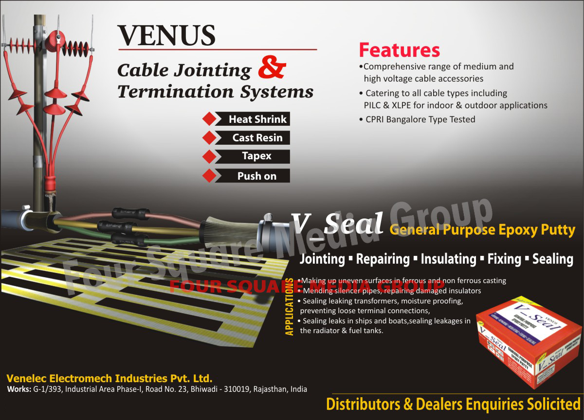 Cable Jointings, Termination Systems, Epoxy Putty