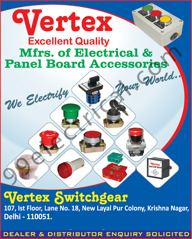 Electrical Accessories | Panel Board Accessories | Electrical ...