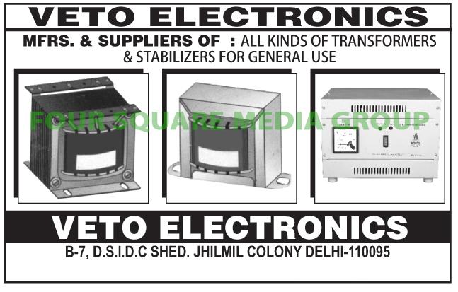 Transformers, Stabilizers,AC Stabilizer, Refrigerator Stabilizer, Voltage Stabilizer, Electronic Stabilizer