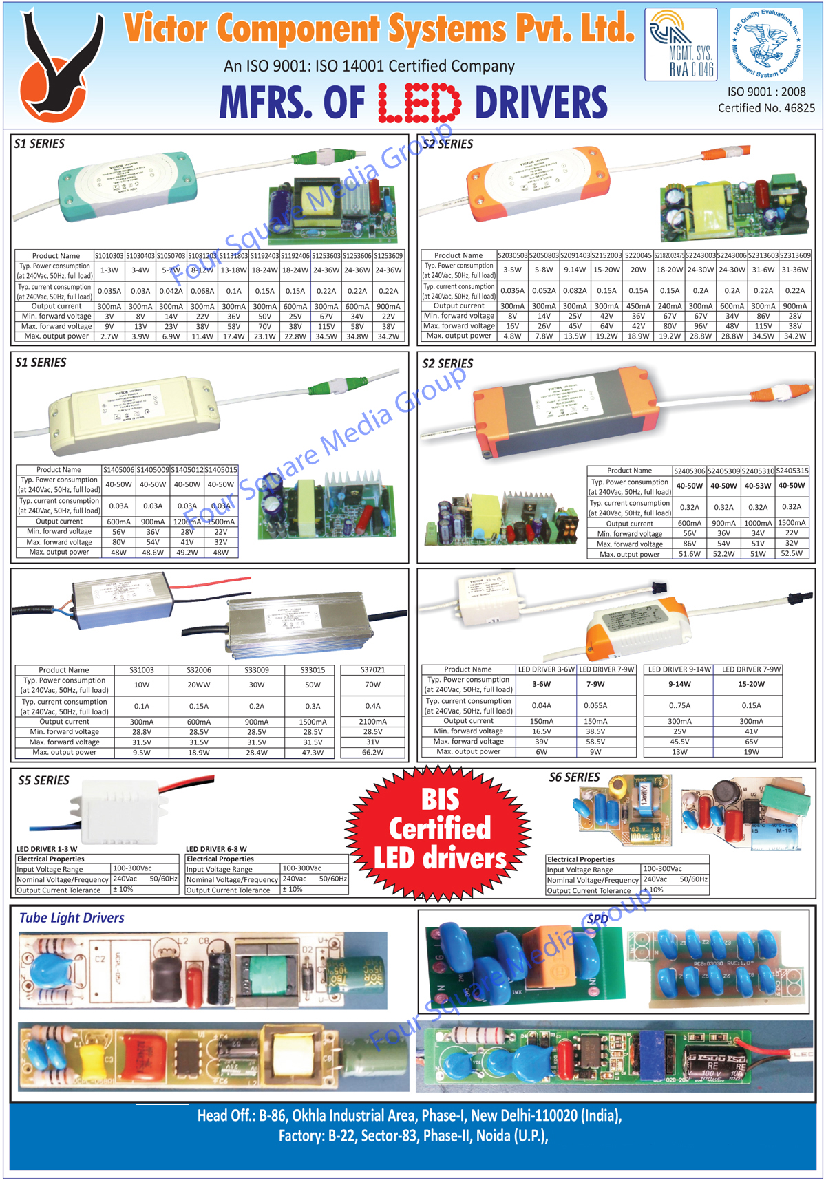 Led Drivers, Tube Light Drivers, Led Light Drivers, SPD Drivers