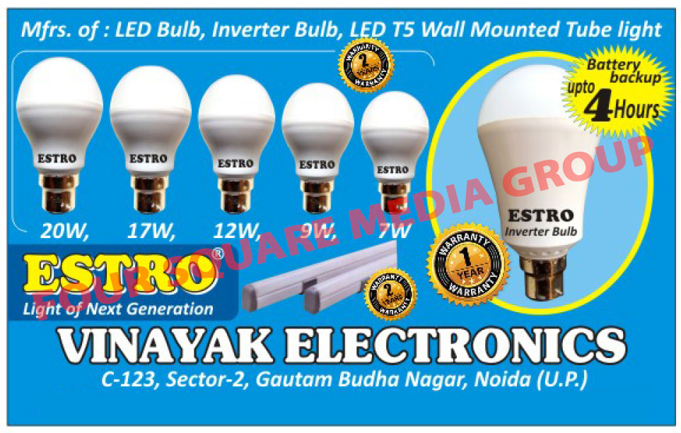 Led Lights, Led Bulbs, Inverter Bulbs, Tube Lights