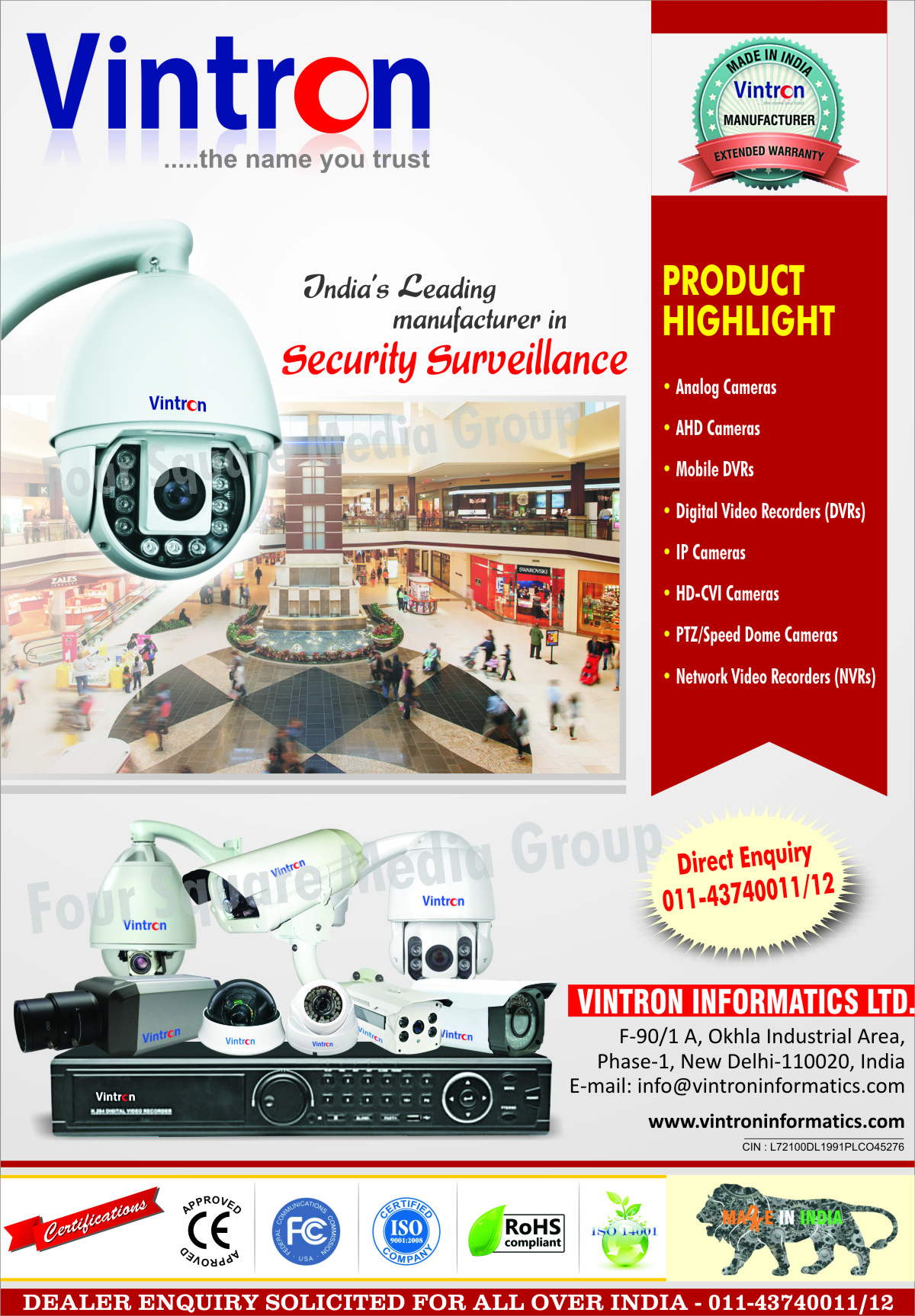 Analog Cameras, AHD Cameras, Mobile DVRs, Mobile Digital Video Recorders, IP Cameras, HD CVI Cameras, PTZ Dome Cameras, Speed Dome Cameras, Network Video Recorders, NVR, Security Surveillance