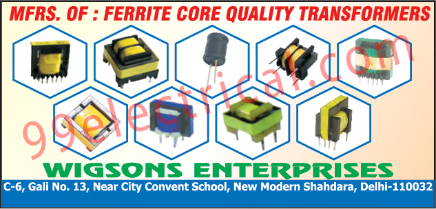 Ferrite Core Transformers,Electric Blasts, Ferrite Transformers, Drum Transfermors, Driver Transformers, Electronic Fuses, Silicon Keypads, Esd Protection Devices, Digital Quran, Resettable Fuse