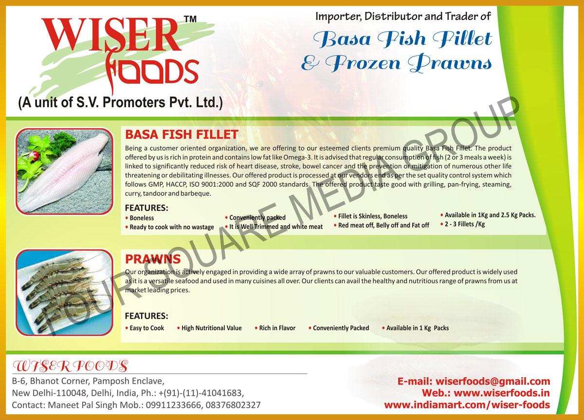 Menu Frozen Foods Price List
