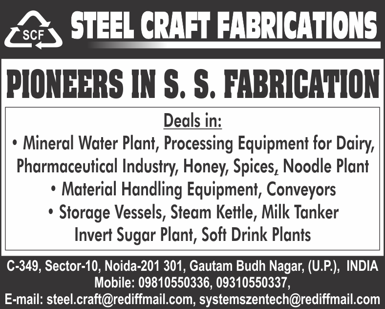 Hopper Dryer Auto Loader, Fabrication of Noodle Plant, Milk Tanker Fabrication, Fabrication of Mineral Water Plant, Site Fabrication Erection, General Fabrication, Fabrication, Fabrication of Invert Sugar Plant