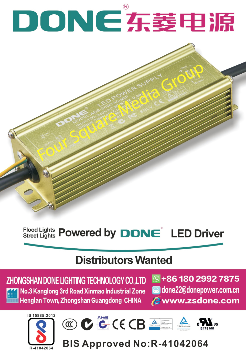 Led Drivers, Led Light Drivers, Flood Light Drivers, Street Light Drivers