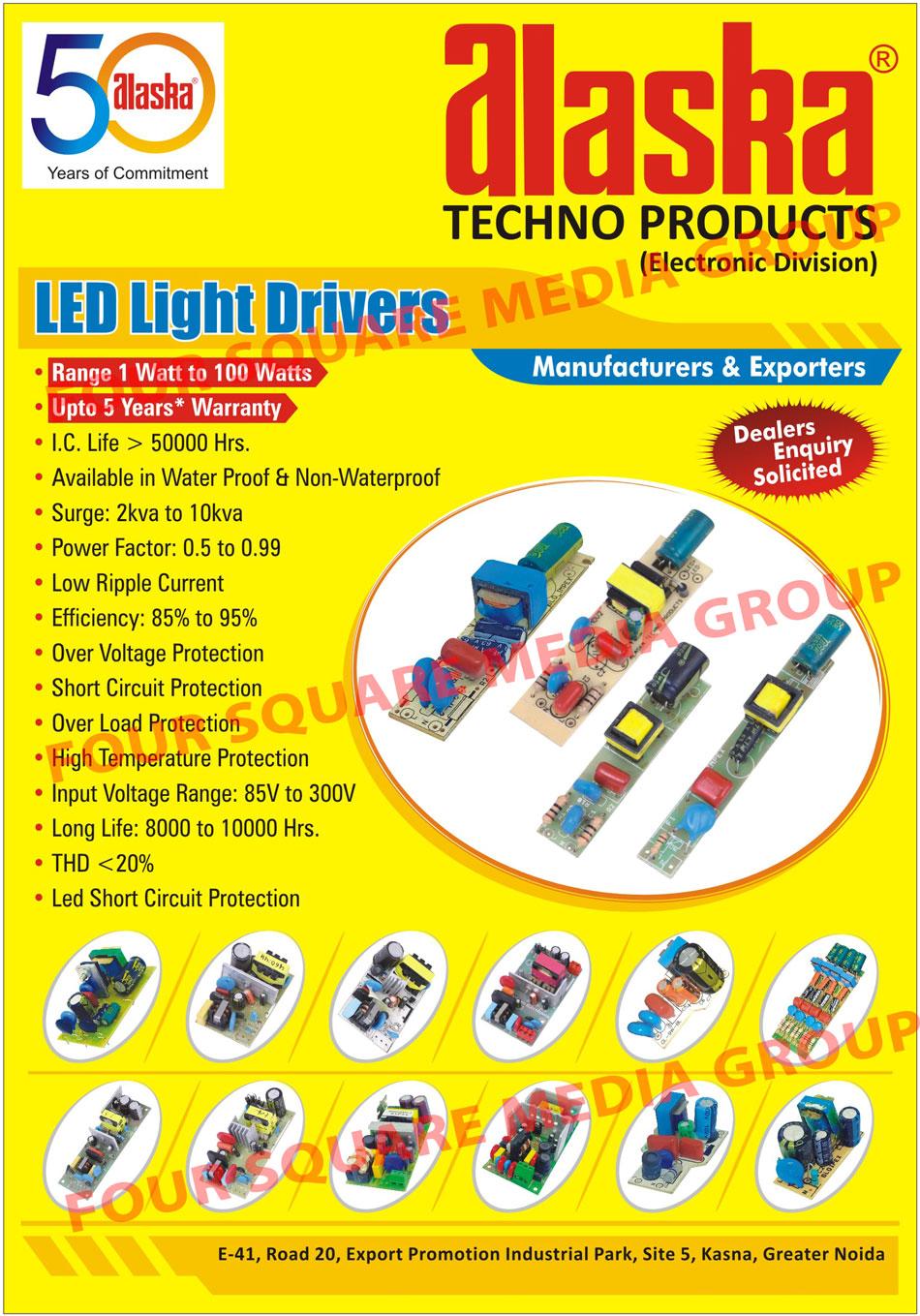 Led Light Drivers, Led Drivers
