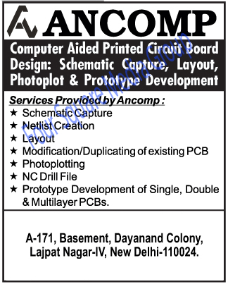 Computer Aided Printed Printed Circuit Boards | Single