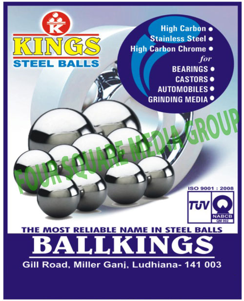 Steel Balls, Carbon Balls, Stainless Steel Balls, Carbon Chrome Balls, Brass Balls, Lead Balls