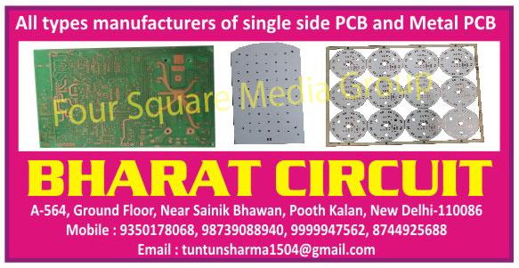 PCB, Printed Circuit Boards, Single Side PCB, Single Side Printed Circuit Boards, Metal PCB, Metal Printed Circuit Boards