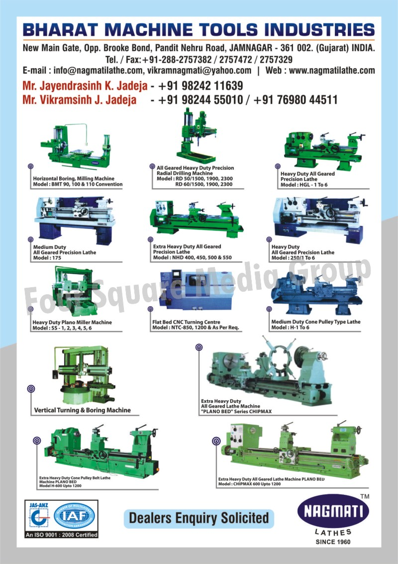 Horizontal Boring Machines, Horizontal Milling Machines, All Geared Heavy Duty Precision Radial Drilling Machines, Heavy Duty All Geared Precision Lathe Machines, Medium Duty All Geared Precision Lathe Machines, Extra Heavy Duty All Geared Precision Lathe Machines, Heavy Duty All Geared Precision Lathe Machines, Heavy Duty Plano Miller Machines, Flat Bed CNC Turning Centre, Medium Duty Cone Pulley Type Lathe Machines, Vertical Turning Machines, Vertical Boring Machines, Extra Heavy Duty All Geared Lathe Machines, Extra Heavy Duty Cone Pulley Belt Lathe Machines