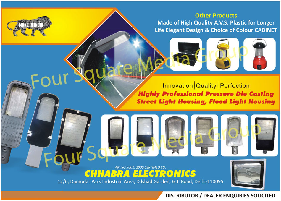 Street Light Cabinets, Solar Lantern Cabinets, Inverter Trolley, Solar Casting, Street Light Casting, Inverter, Ups, Power Socket, Pressure Die Casting, Flood Light Housing, Pressure Die Casting Street Light Housing, Solar Lanterns, Solar Lantern Housings, Street Light Luminaries, Light Housings, Street Light Casings, Street Lights, Flood Lights