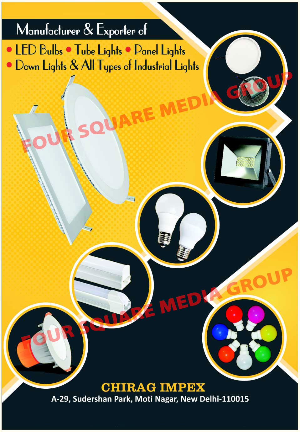 Led Lights, Led Bulbs, Led Tube Lights, Led Down Lights, Led Panel Lights, Industrial Led Lights