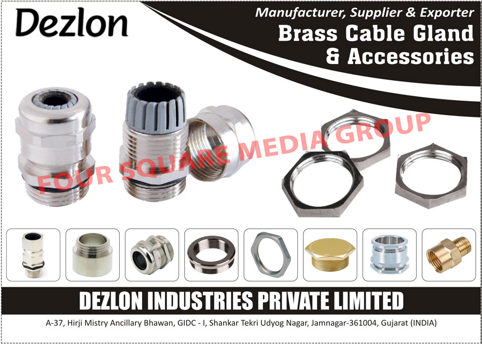 Brass Cable Glands, Cable Gland Accessories