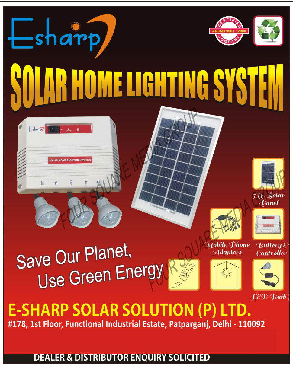 Led Lights, Led Bulbs, Solar Products, Home Lights, Street Lights, Water Heatings, Road Studs, Solar Home Light Systems, Solar Panels, Mobile Phone Adapters, Solar Charge Controllers