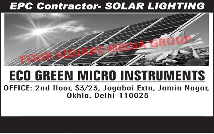 Solar Lighting EPC Contractor