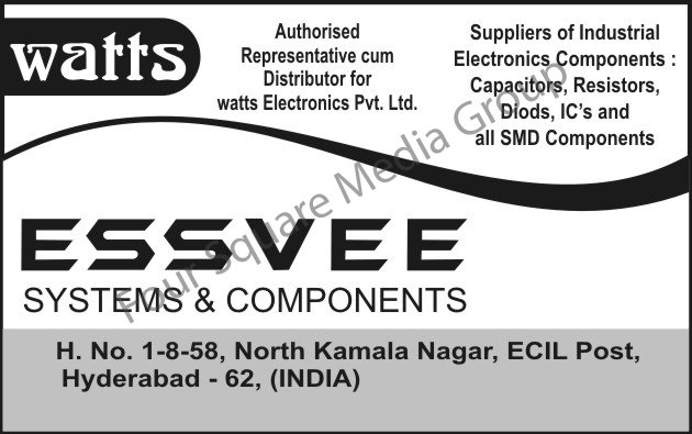 Electronics Components, Capacitors, Resistors, Diodes, Integrated Circuits, SMD Components