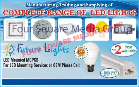 Led Mounted MCPCB, Led Lights, Led Mounding Services, Led Mounted MCPCB For OEM