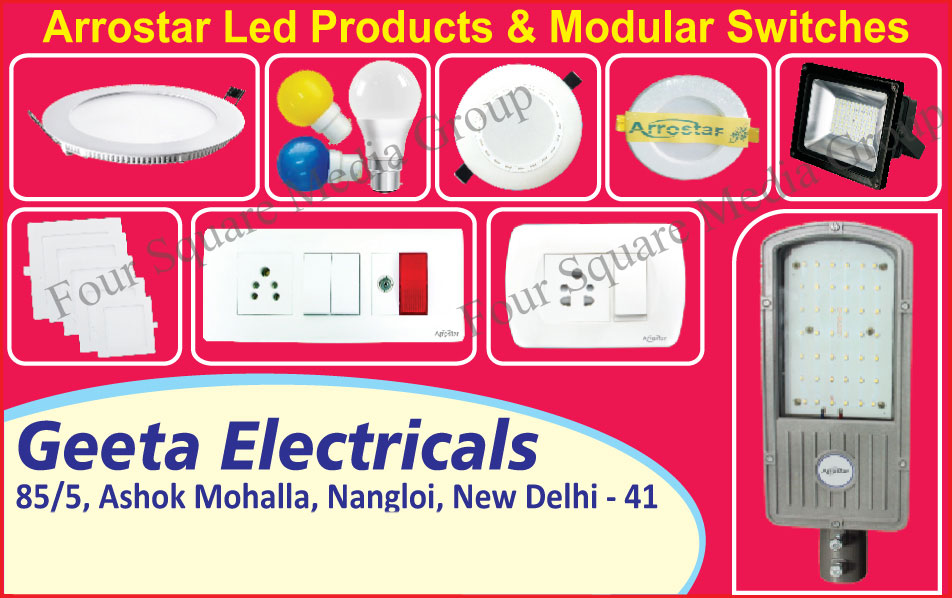 Led Products, Modular Switches
