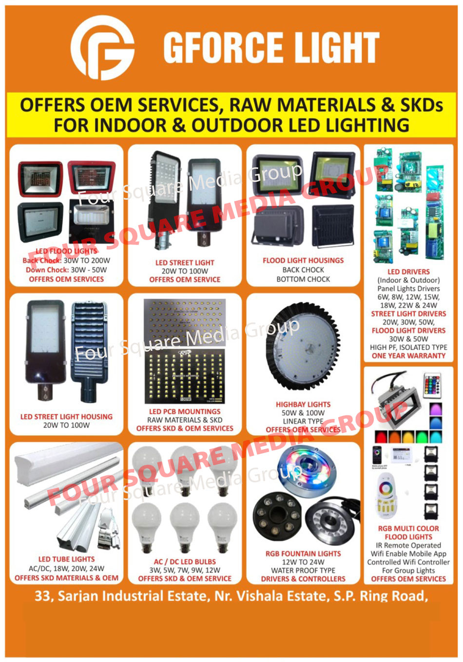 Led Lights, Solar Lights, Panel Lights, Led Drivers, Led Driver Raw Materials, PCB Assemblies Job Works, Printed Circuit Board Assemblies Job Works, Industrial Automation, SMD Assemblies Job Works, AC Led Lights, DC Led Lights, AC DC Led Lights, RGb Fountain Lights, RGB Magic Led Strip Lights, PCB Assembly, SMD Assembly, Fountain Lights, LED Strip Lights, Led Strip Lights, Fountain Lights, Indoor Light SKD Form, Outdoor Light SKD Form, Led Flood Lights, Led Street Lights, Led Flood Light Housings, Led Street Light Housings, Led PCB Mountings, High Bay Lights, Led Tube Lights, AC DC Led Bulbs, RGB Multi Color Flood Lights