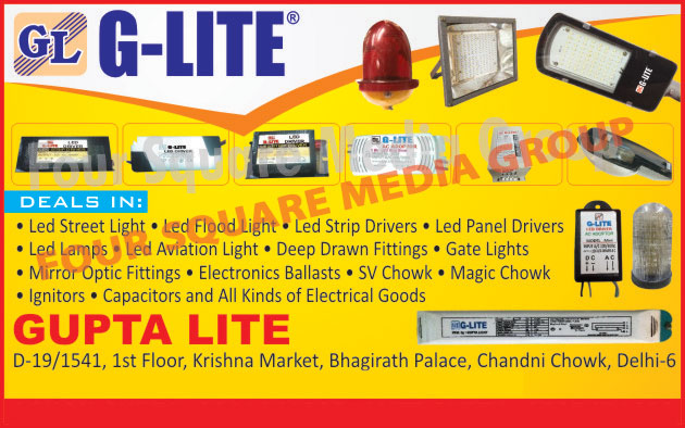 Led Street Lights, Led Flood Lights, Led Strip Drivers, Led Panel Drivers, Led Lamps, Led Aviation Lights, Deep Draw Fittings, Gate Lights, Mirror Optic Fittings, Electronic Ballasts, SV Chowks, Magic Chowks, Ignitors, Capacitors, Electrical Goods