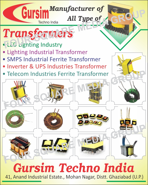 Led Industry Transformers, Lighting Industry Transformers, SMPS Ferrite Transformers, Inverter Transformers, UPS Transformers, Telecom Industry Ferrite Transformers, Transformers
