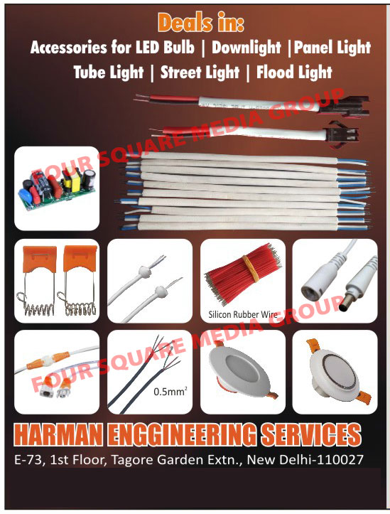 Led Bulb Accessories, Down Light Accessories, Panel Light Accessories, Tube Light Accessories, Street Light Accessories, Flood Light Accessories