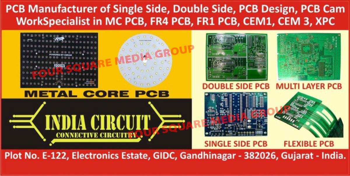 Single Side PCB, Double Side PCB, PCB Designing Service, PCB Cam Work, MCPCB, FR4 PCB, FR 1 PCB, CEM 1 PCB, CEM 3 PCB, XPC PCB, Metal Core PCB, Metal Core Printed Circuit Board, Single Side Printed Circuit Board, Double Side Printed Circuit Board, Printed Circuit Board Designing Service, Printed Circuit Board Cam Work, FR4 Printed Circuit Board, FR 1 Printed Circuit Board, CEM 1 Printed Circuit Board, CEM 3 Printed Circuit Board, XPC Printed Circuit Board