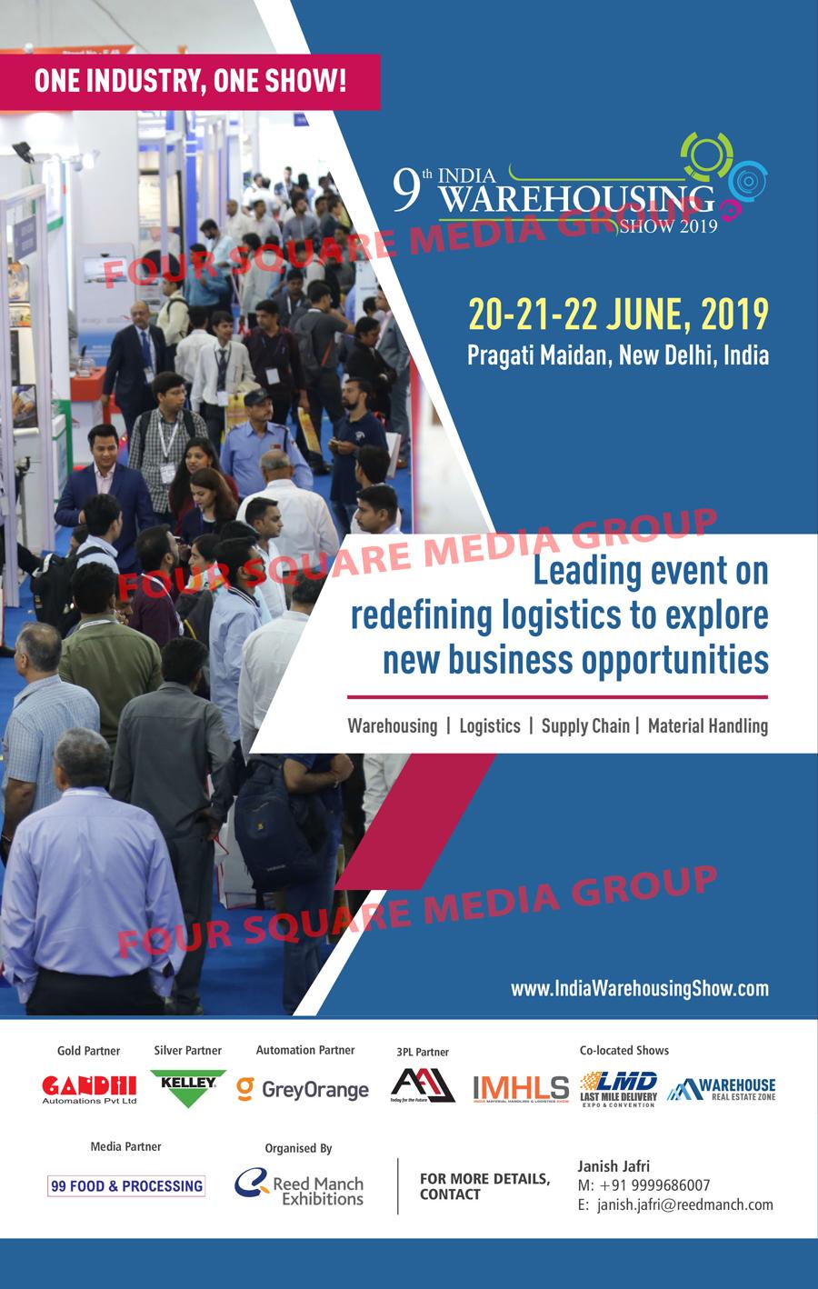 India Warehousing Show 2019, Manufacturers in Delhi