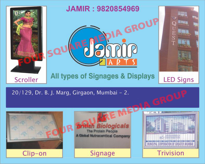 Glow Signs, Neon Signs, Scroller, LED Signs, Trivision, Signag, Displays, Electronic Displays, Hoardings