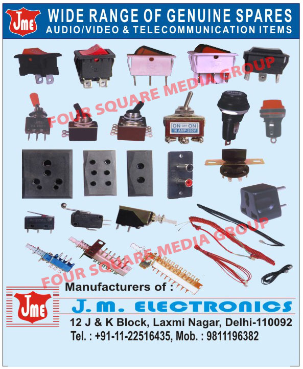 Rocker Switches, Toggle Switches, Telecommunication Items, Audio Items, Video Items,Audio Spare Parts, Video Spare Parts, Telecommunication Parts, Telecommunication Devices, Audio Spare Parts, Video Spare Parts, Switch, Power Socket, Modular Switch, AMP Socket