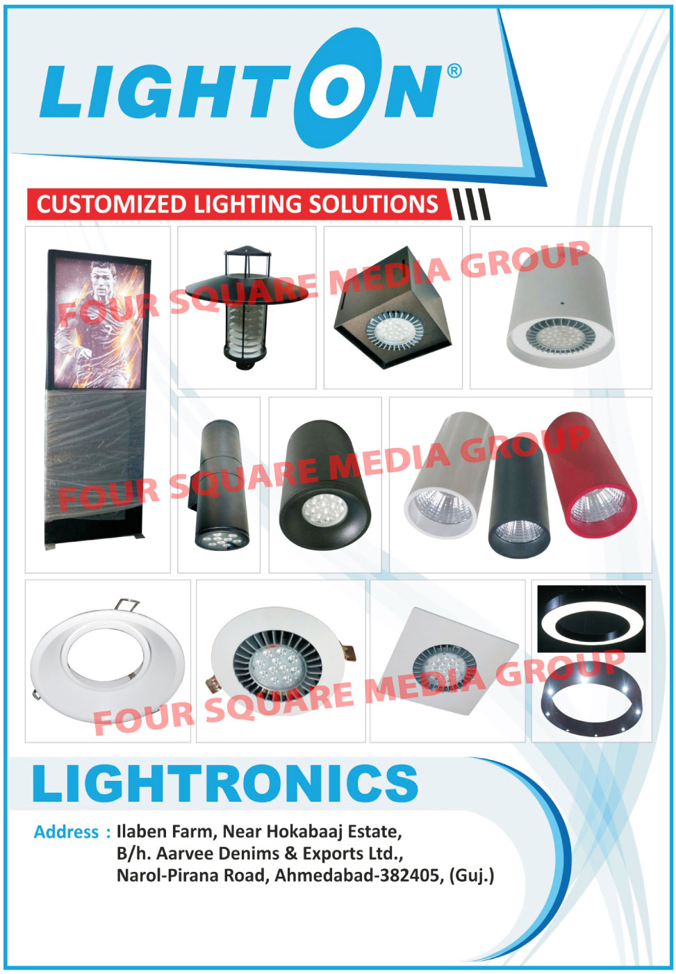 Customized Lighting Solutions, Customised Lighting Solutions