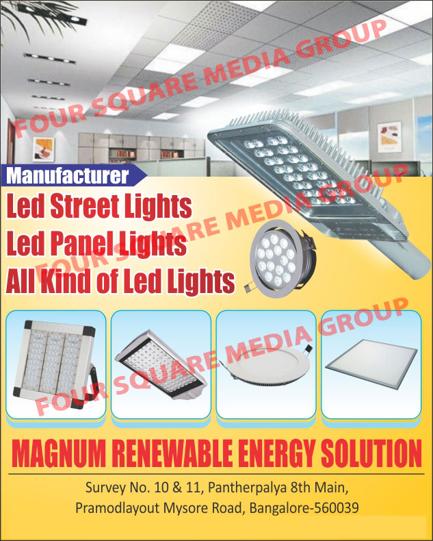 Led Products, Lights, Street Lights, Panel Lights