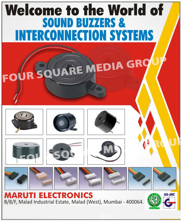 Wound Components, Inductors, Line Filters, Wound with TIW, Sound Buzzers, Interconnection Systems